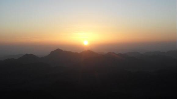 Sunrise on Mount Sinai